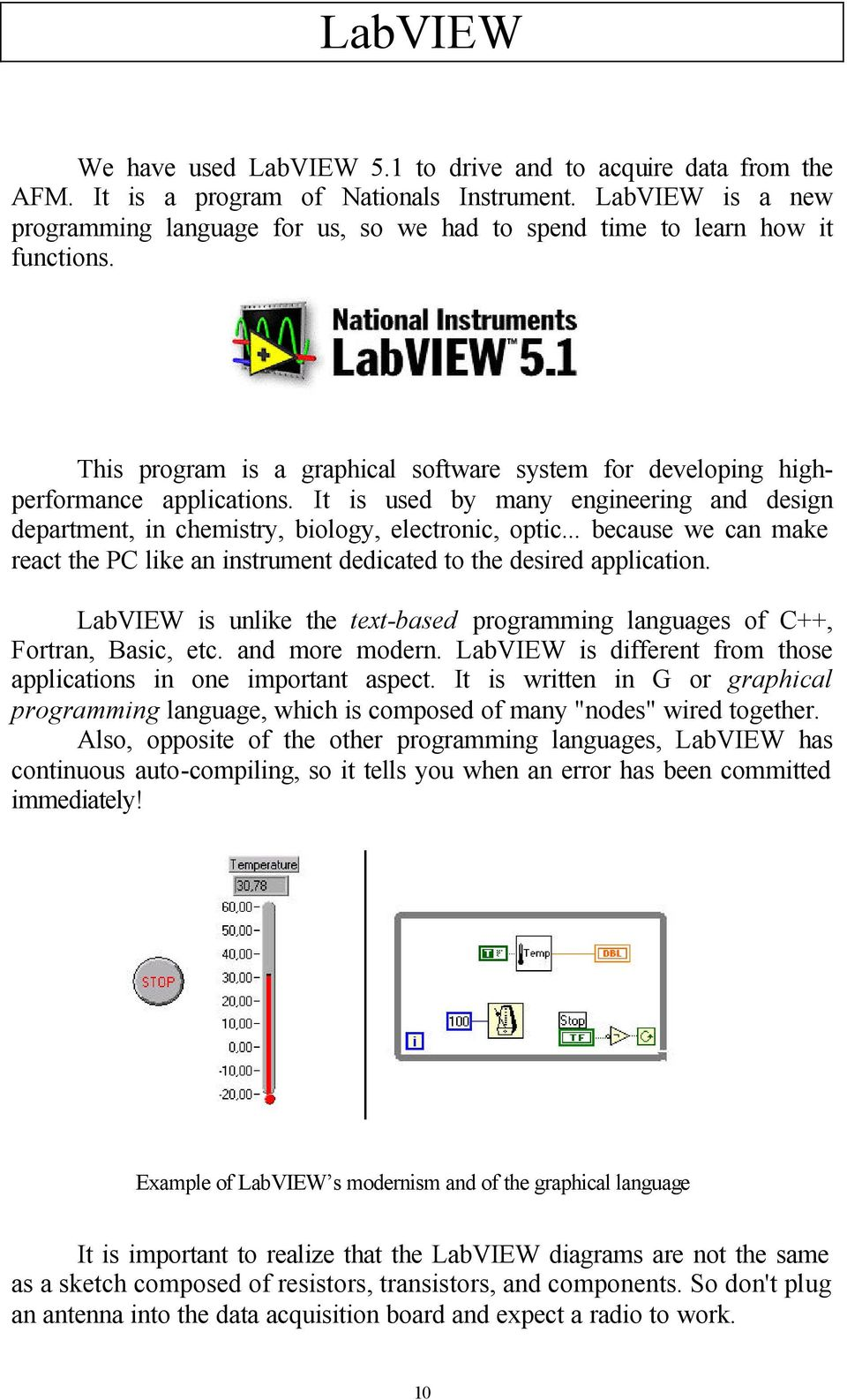 Drive an Atomic Force Microscope using LabVIEW software - PDF