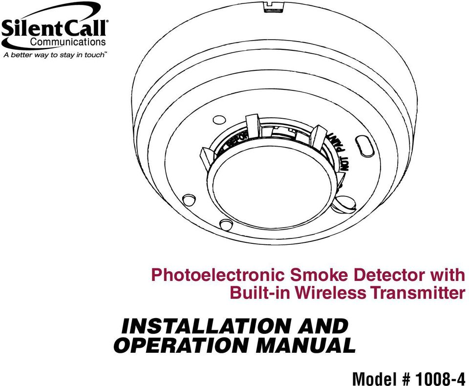 INSTALLATION AND OPERATION MANUAL - PDF