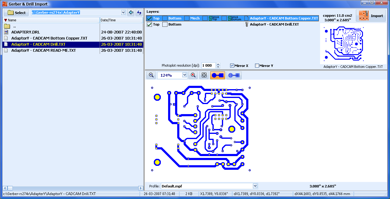 Pcb Prototyping Software V Phcnc Pro Telenet Ltd User Details About 12x Universal Copper Circuit Board Plate Prototype Gerber Import Example Editor 3 Https Youtube