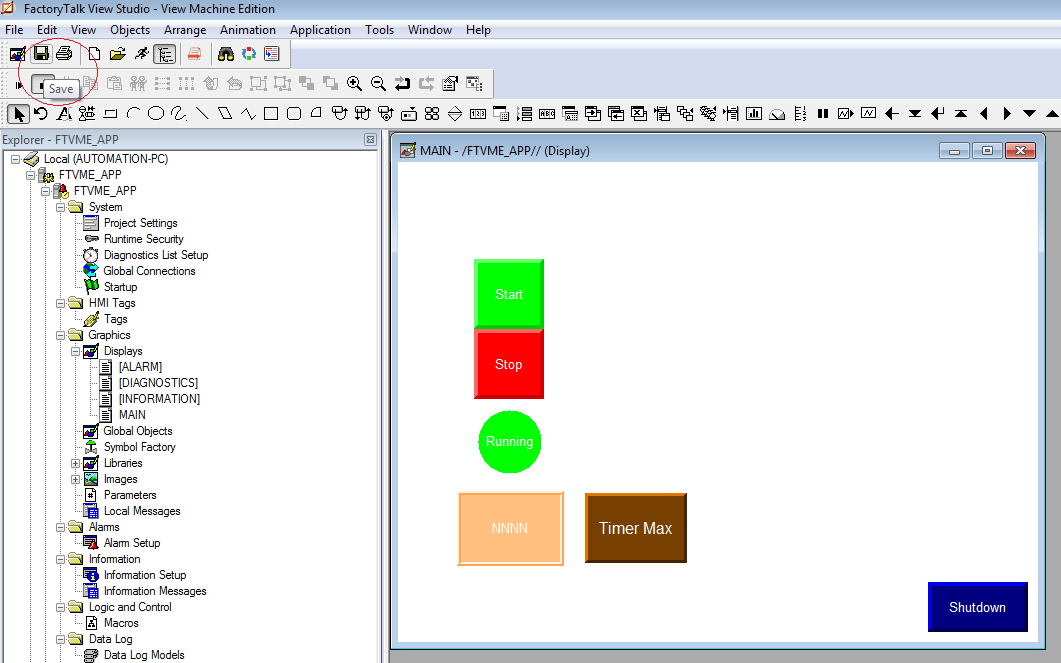 Introduction to PanelView Programming using FactoryTalk View Studio