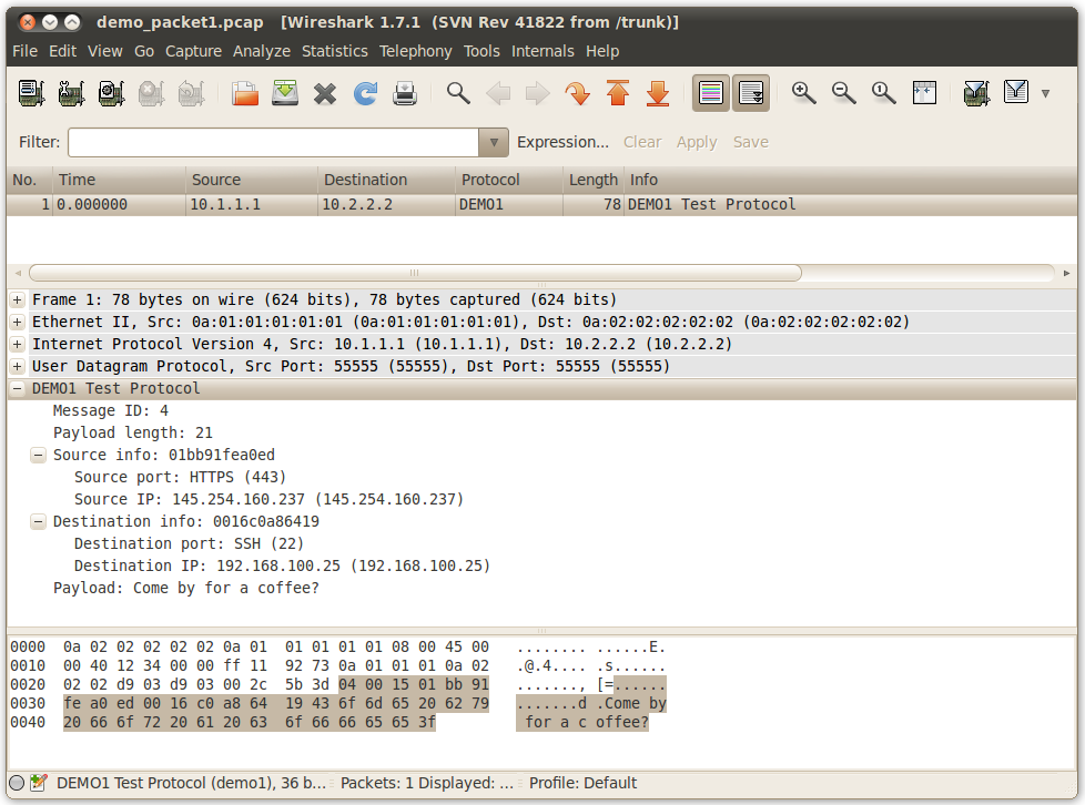 A TOOL FOR GENERATING PROTOCOL DISSECTORS FOR WIRESHARK IN LUA - PDF