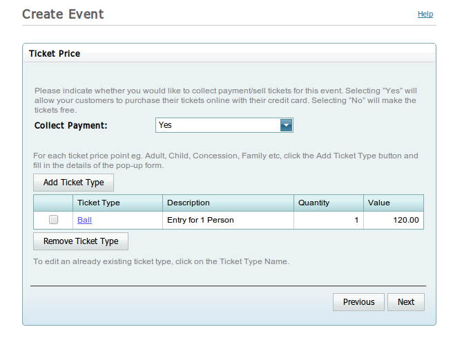 overview to setting up tabled events with trybooking pdf