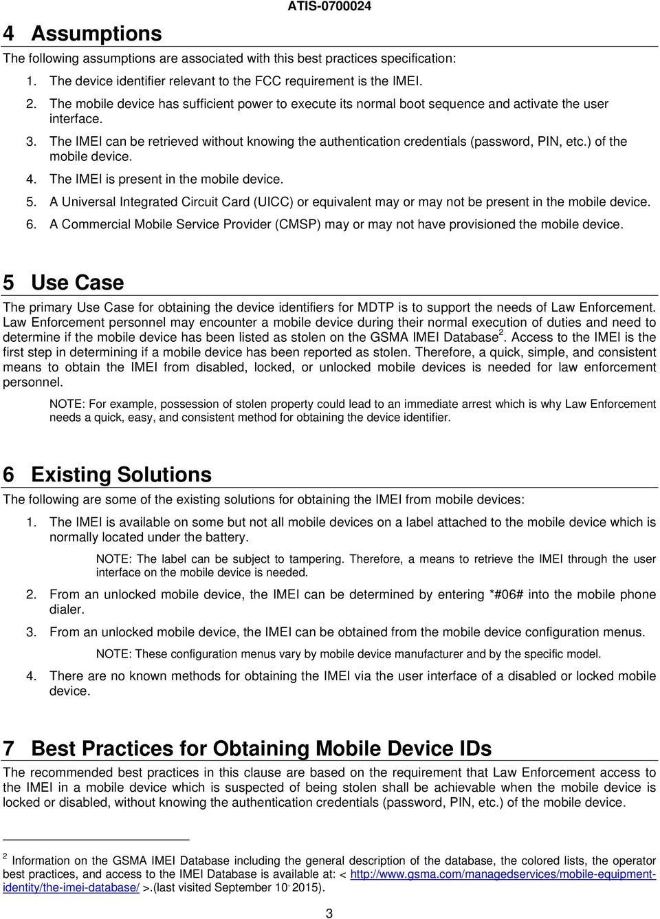 BEST PRACTICES FOR OBTAINING MOBILE DEVICE IDENTIFIERS FOR MOBILE
