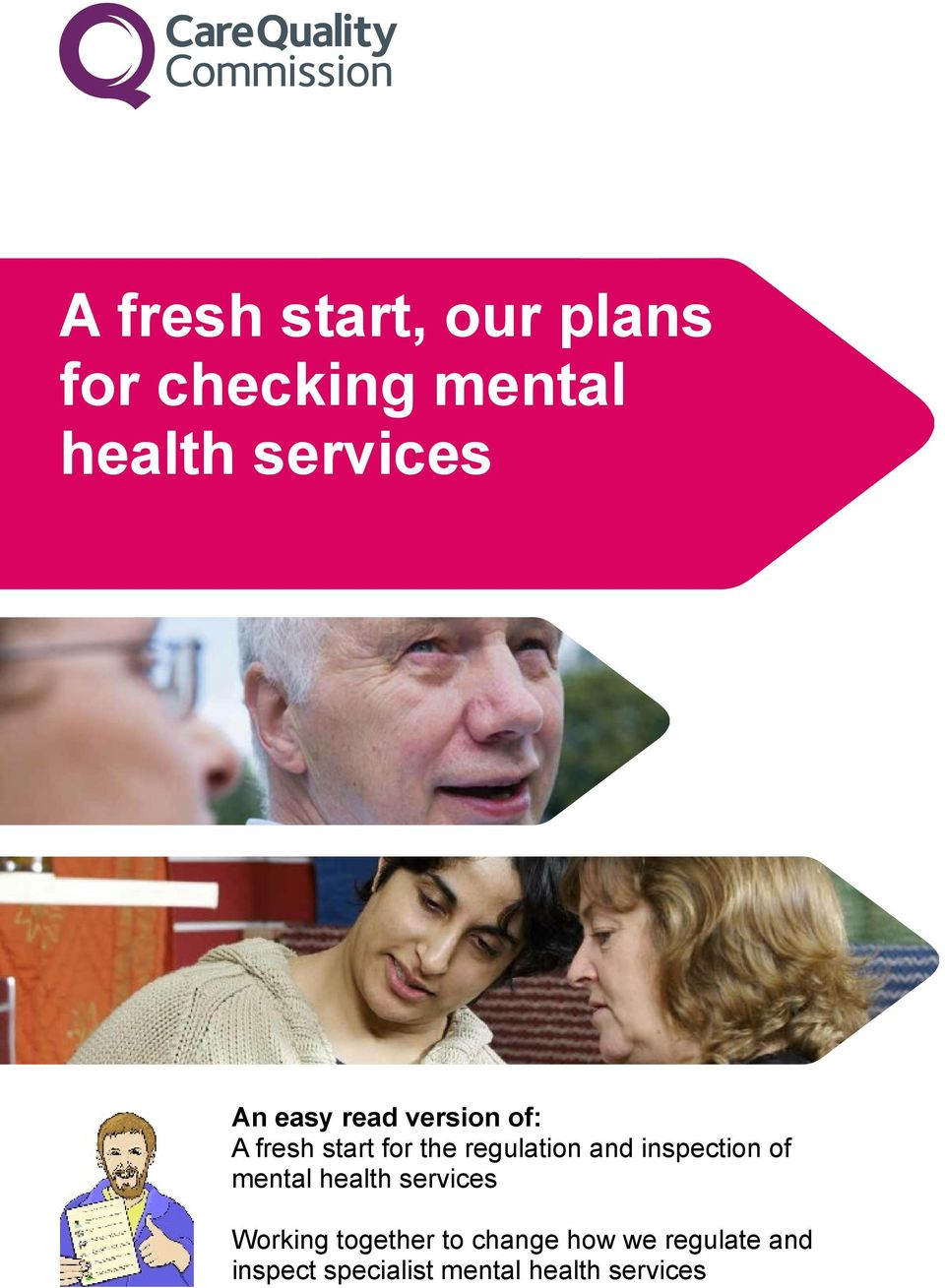 inspection of mental health services Working together to