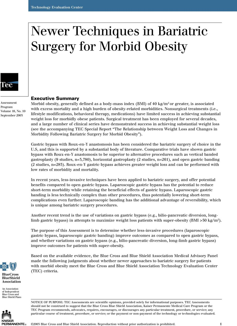 Newer Techniques In Bariatric Surgery For Morbid Obesity Pdf