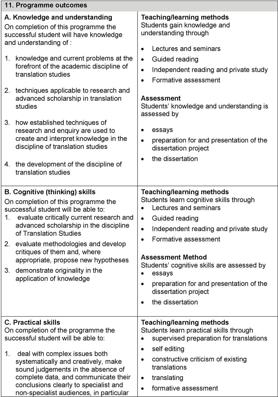 how established techniques of research and enquiry are used to create and interpret knowledge in the discipline of translation studies 4. the development of the discipline of translation studies B.