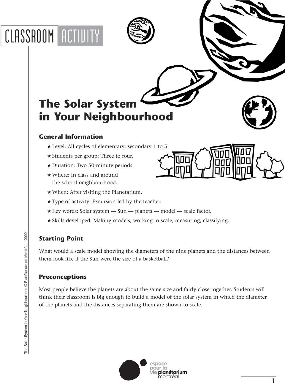 The Solar System in Your Neighbourhood - PDF