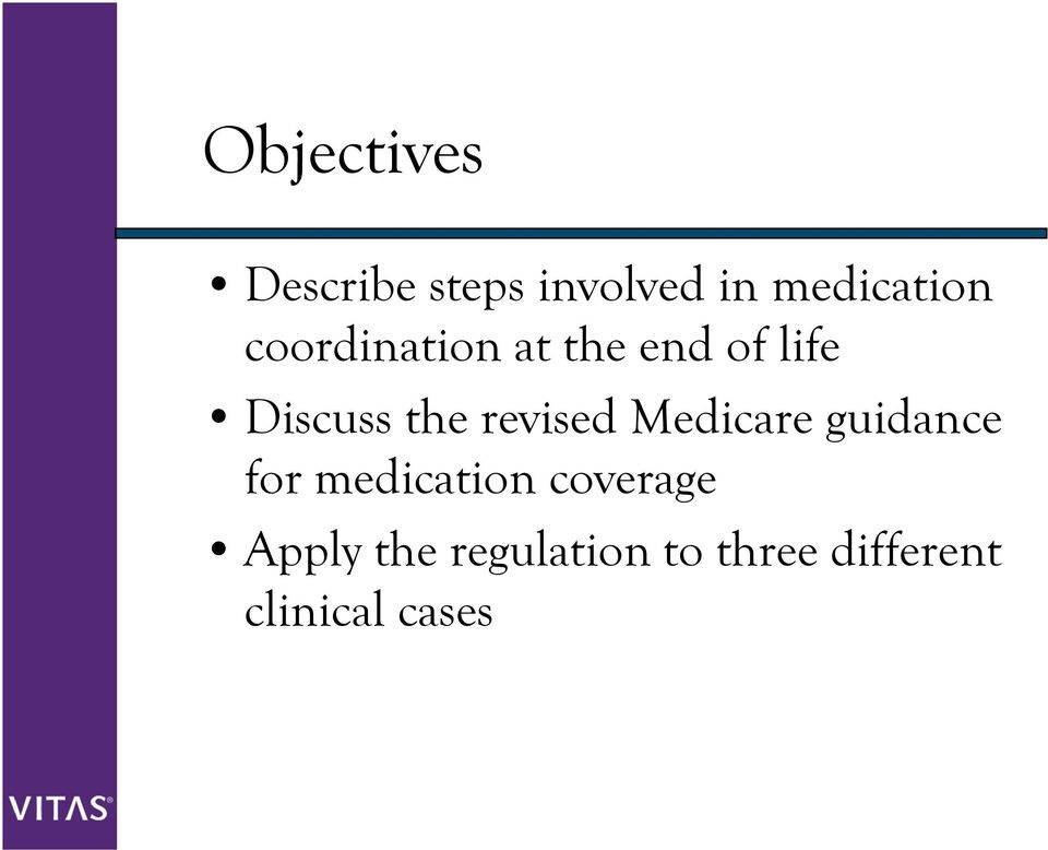 revised Medicare guidance for medication coverage
