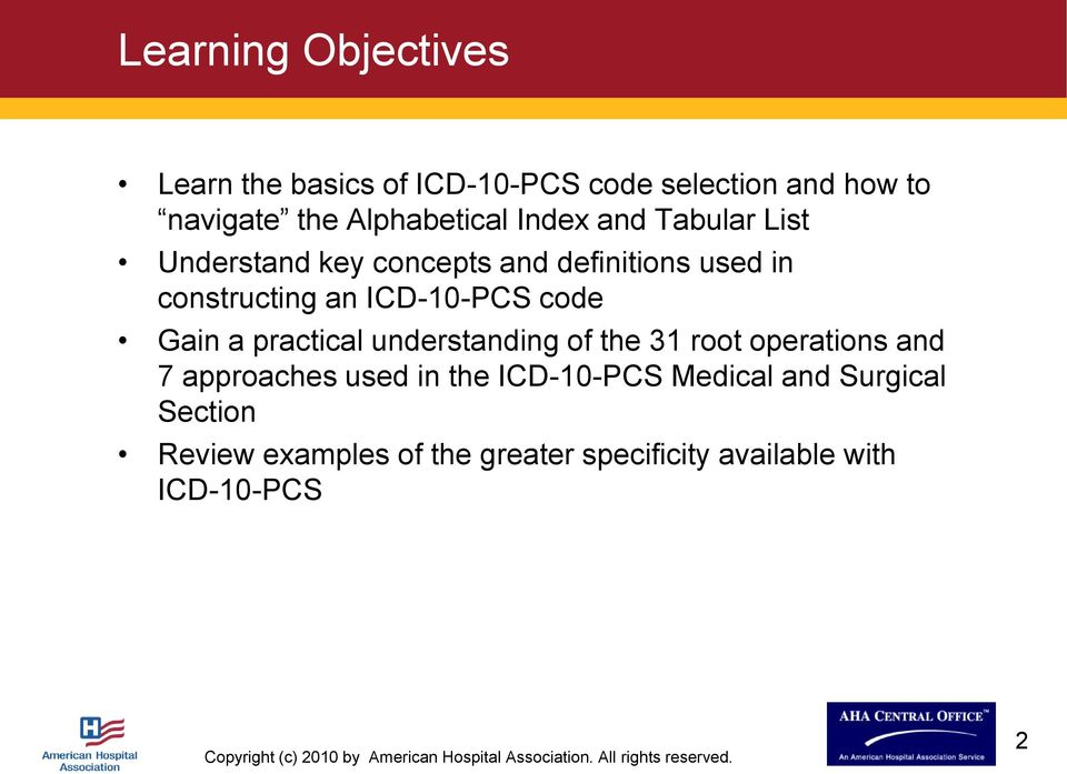 Preparing For Icd 10 Understanding The Basics Of Icd 10 Pcs