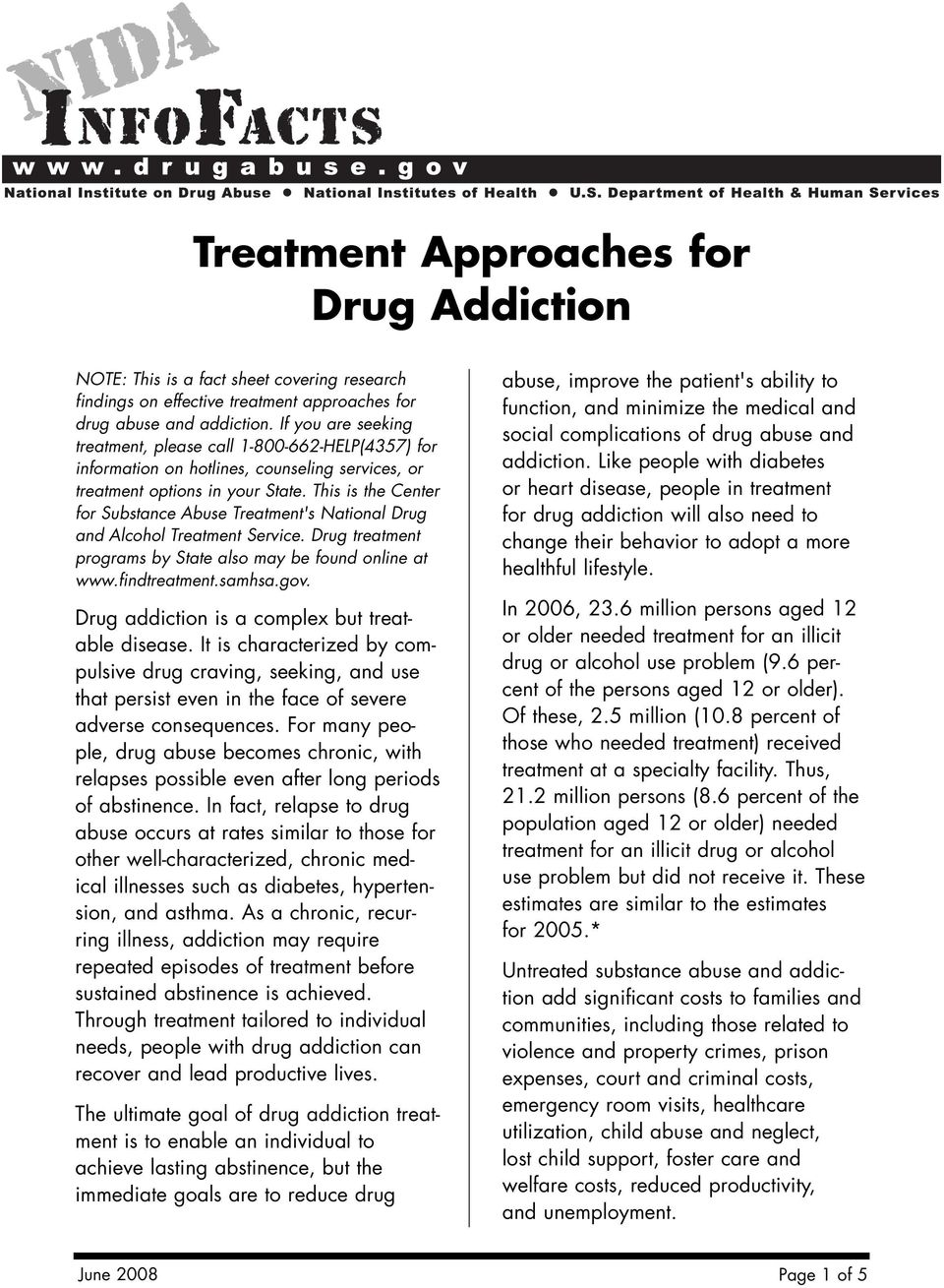 This is the Center for Substance Abuse Treatment's National Drug and Alcohol Treatment Service. Drug treatment programs by State also may be found online at www.findtreatment.samhsa.gov.