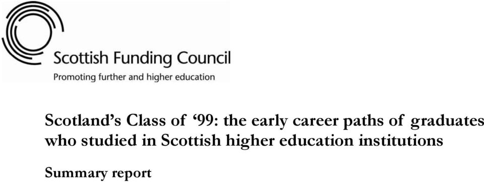 who studied in Scottish higher