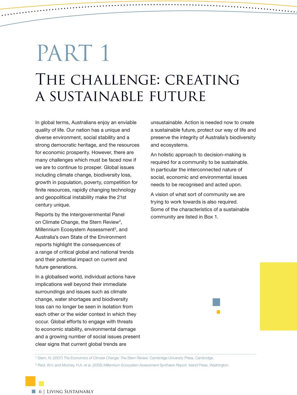 Living Sustainably  The Australian Government s National Action Plan
