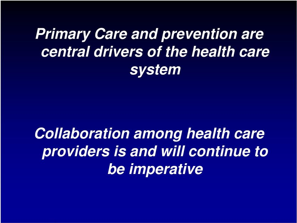system Collaboration among health care