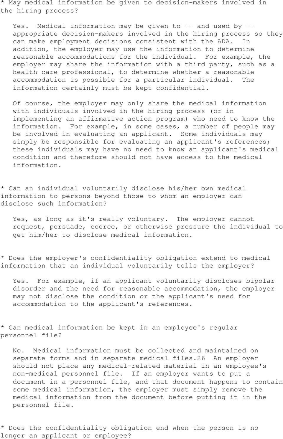 Reasonable Accommodations Extend To >> The U S Equal Employment Opportunity Commission Pdf