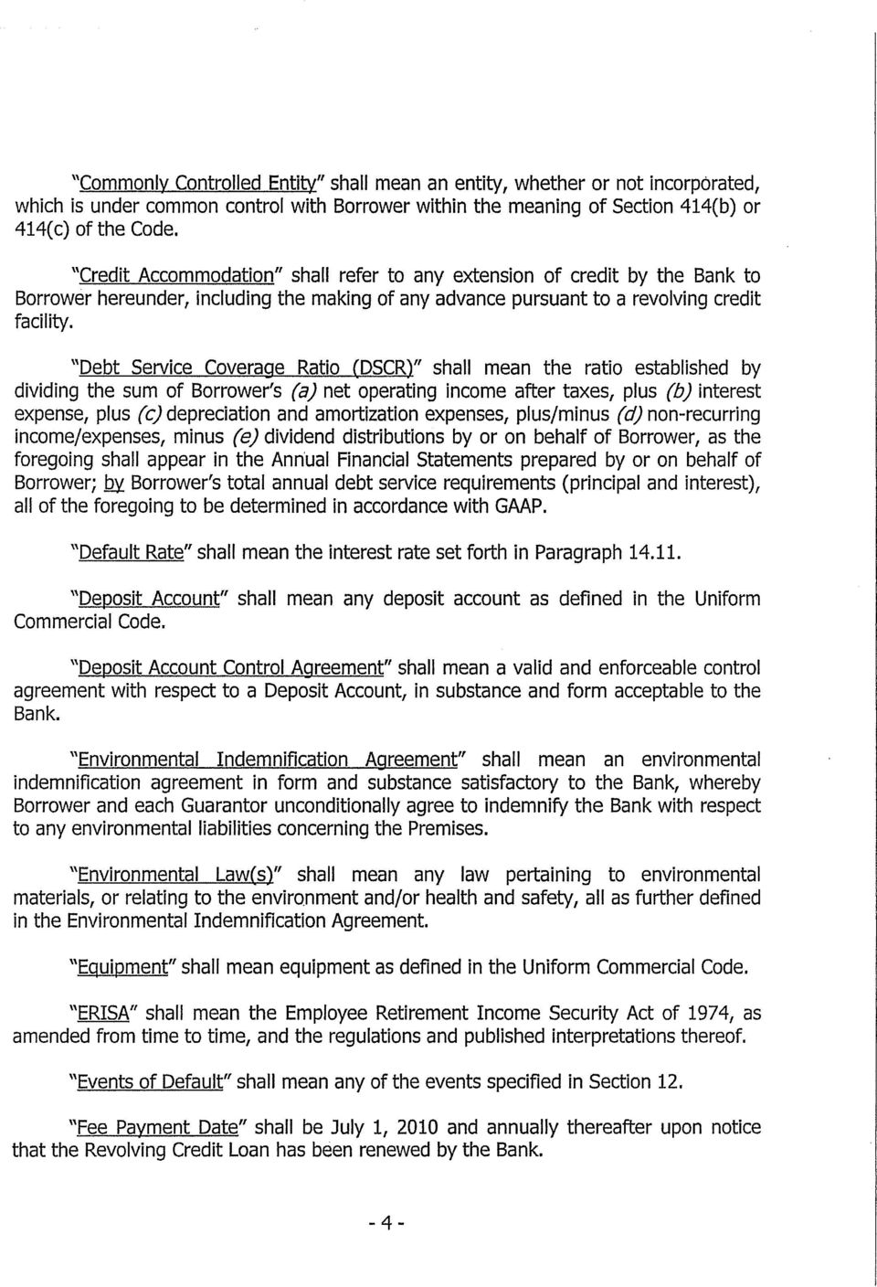 This Amended And Restated Loan Agreement Agreement Is Made This