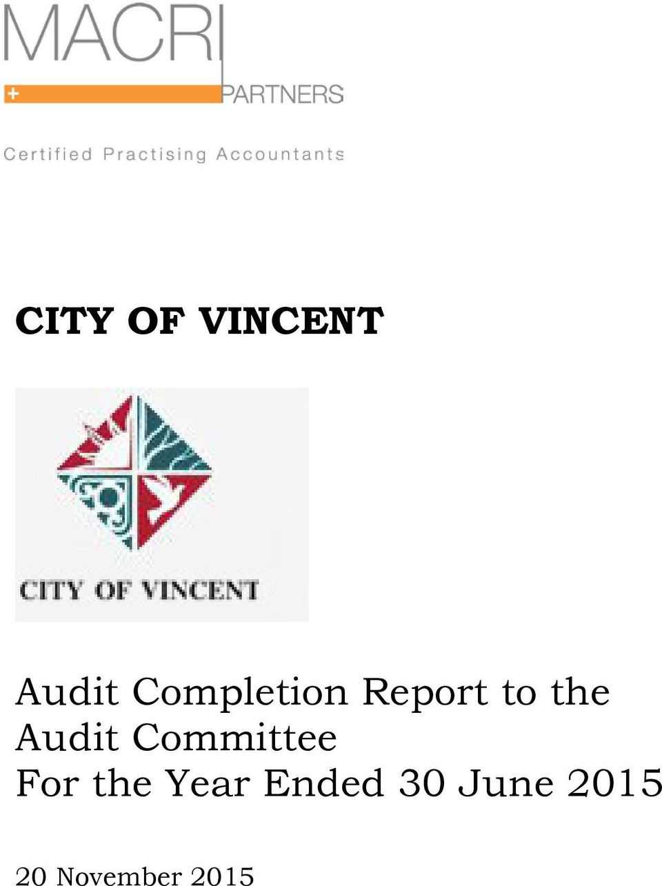 Audit Committee For the