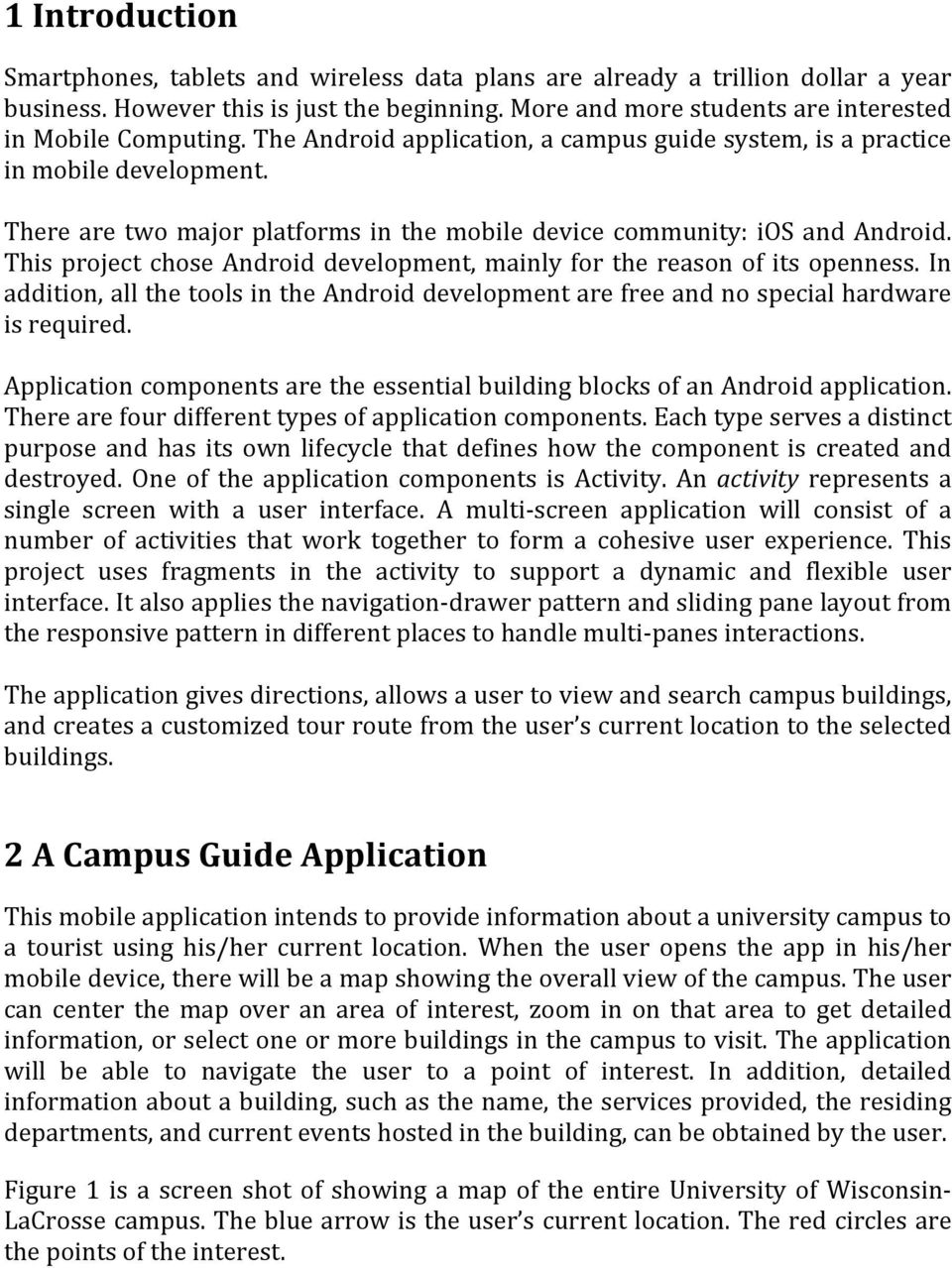 Using Android Fragments in A Campus Guide System - PDF