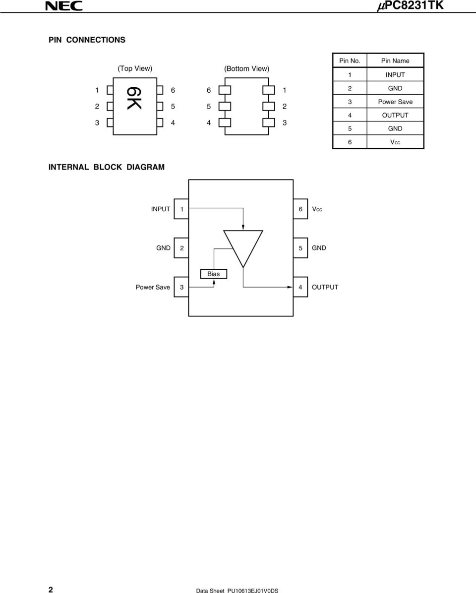 Bipolar Analog Integrated Circuit Pdf Gaas Technology For High Speed And Digital Gnd Vcc Internal Block Diagram Input