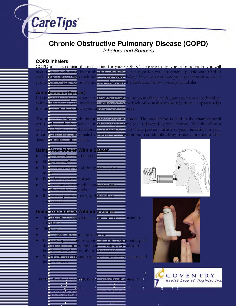 Better Breathing with COPD - PDF