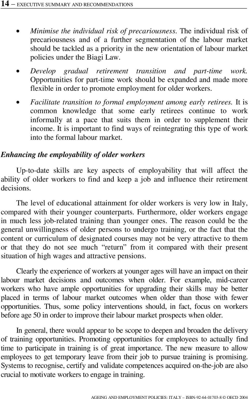 Hstcqe Uv Uxu Italy Ageing And Employment Policies Vieillissement