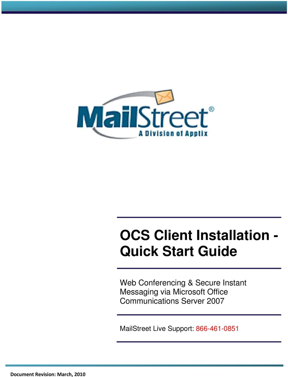 Microsoft Office Communications Server 2007