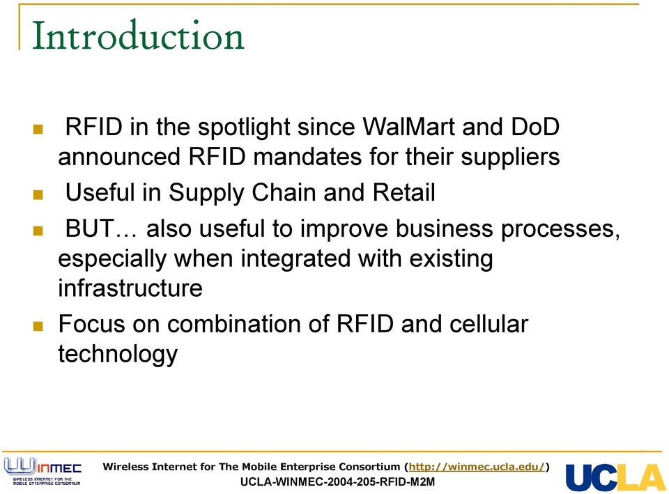 Integration of RFID and Cellular Technologies 1 - PDF