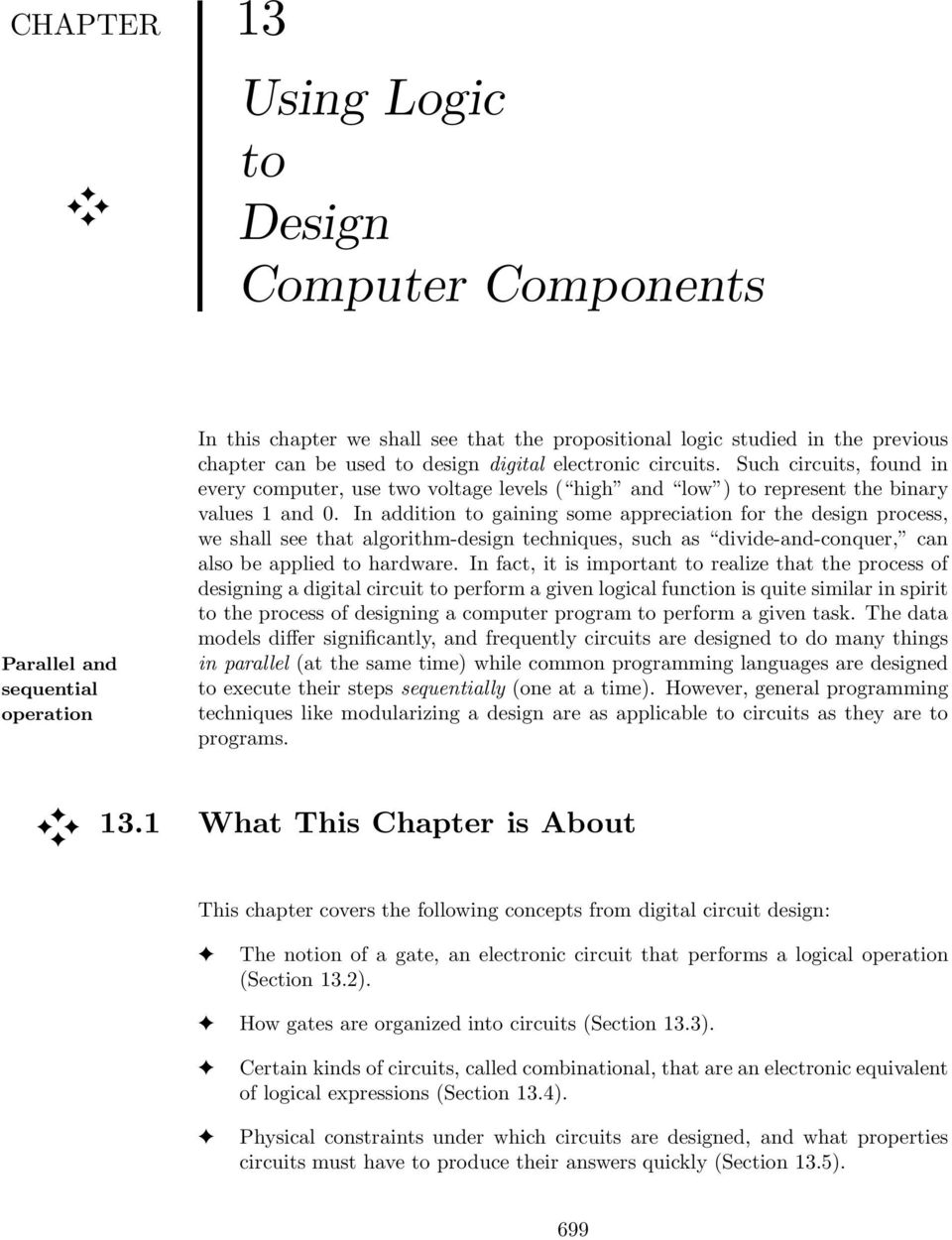 Using Logic To Design Computer Components Pdf Designing Digital Circuits In Addition Gaining Some Appreciation For The Process We Shall See That Algorithm