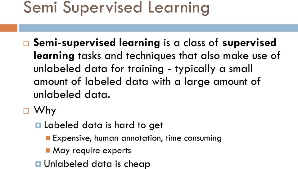 LABEL PROPAGATION ON GRAPHS  SEMI-SUPERVISED LEARNING