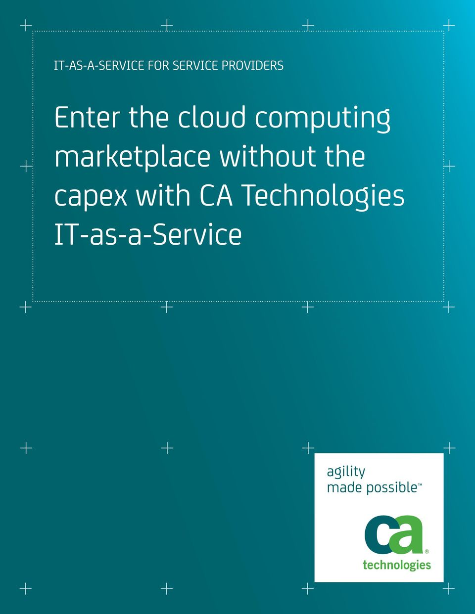 computing marketplace without