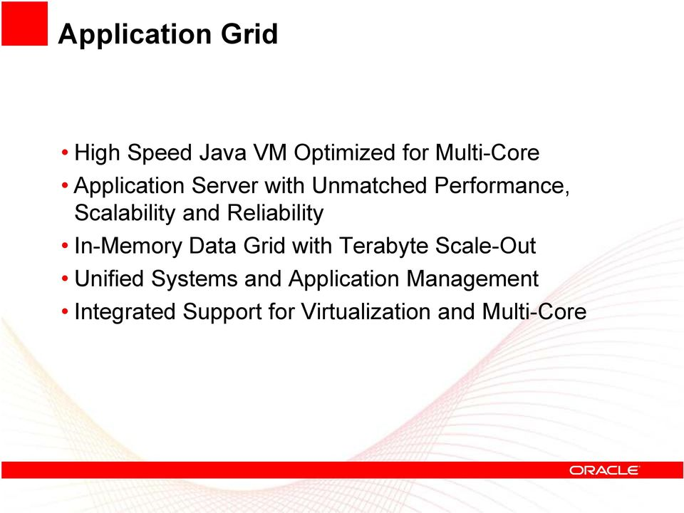 Reliability In-Memory Data Grid with Terabyte Scale-Out Unified