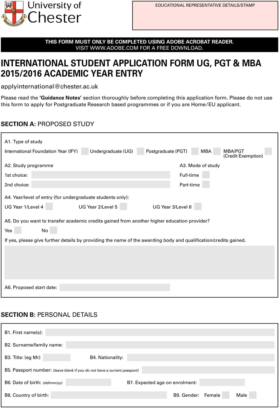 uk Please read the Guidance Notes section thoroughly before completing this application form.