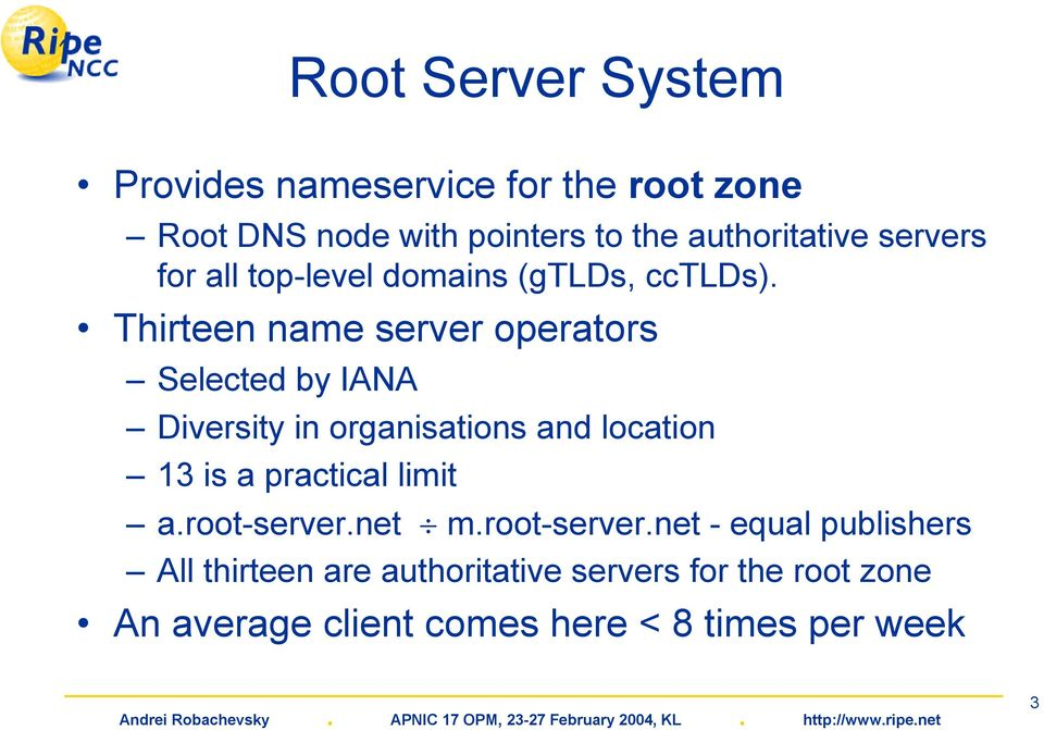 K-Root Name Server Operations - PDF
