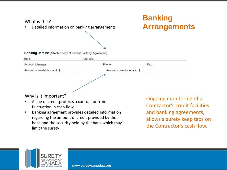 Applying For A Bond Facility The Contractor Application Process Pdf