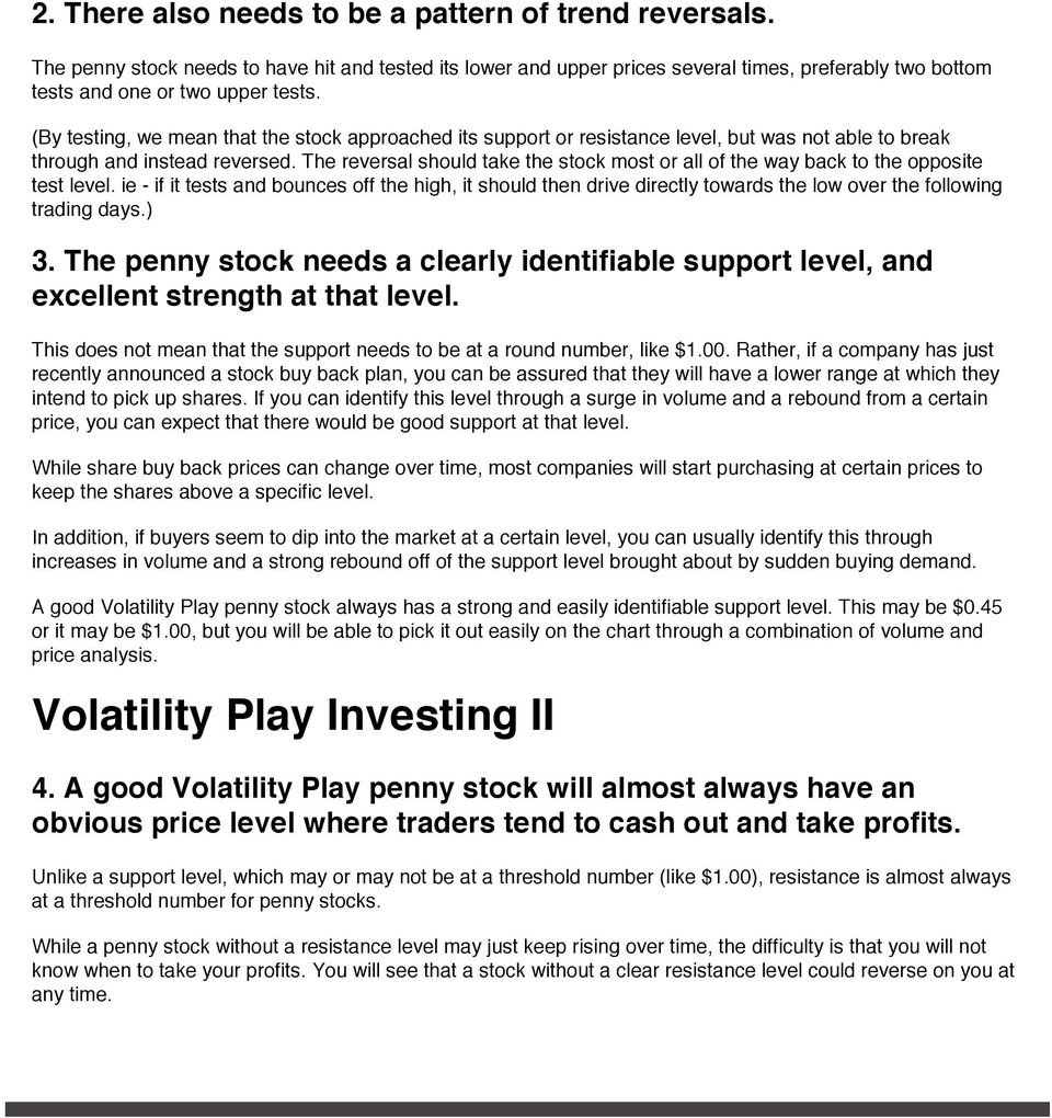 What Are Penny Stocks? - PDF