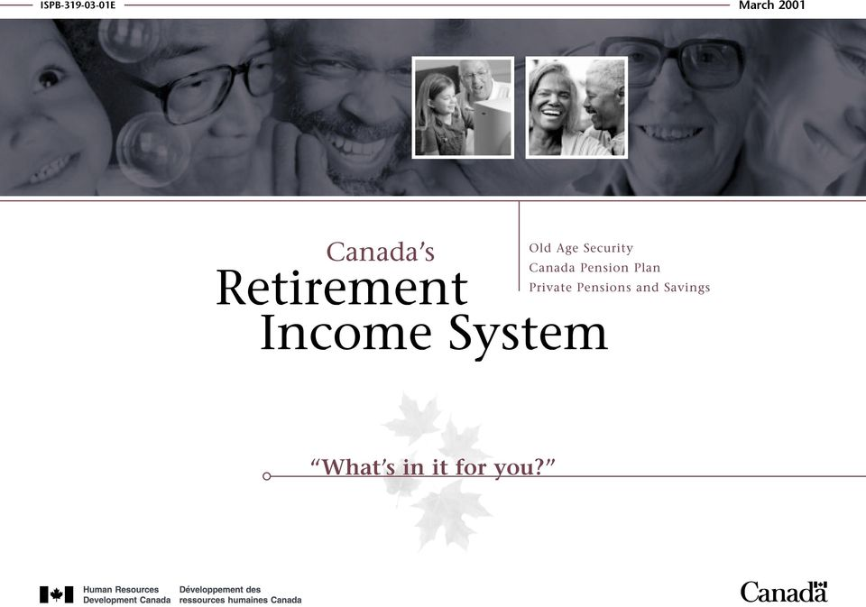 Security Canada Pension Plan Private