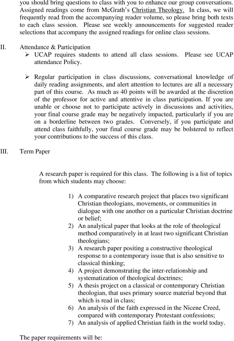 theology research paper topics