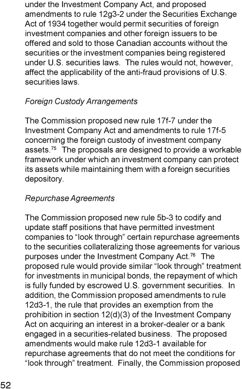 Rule 17f-7 of the us investment company act longtop investments clothing