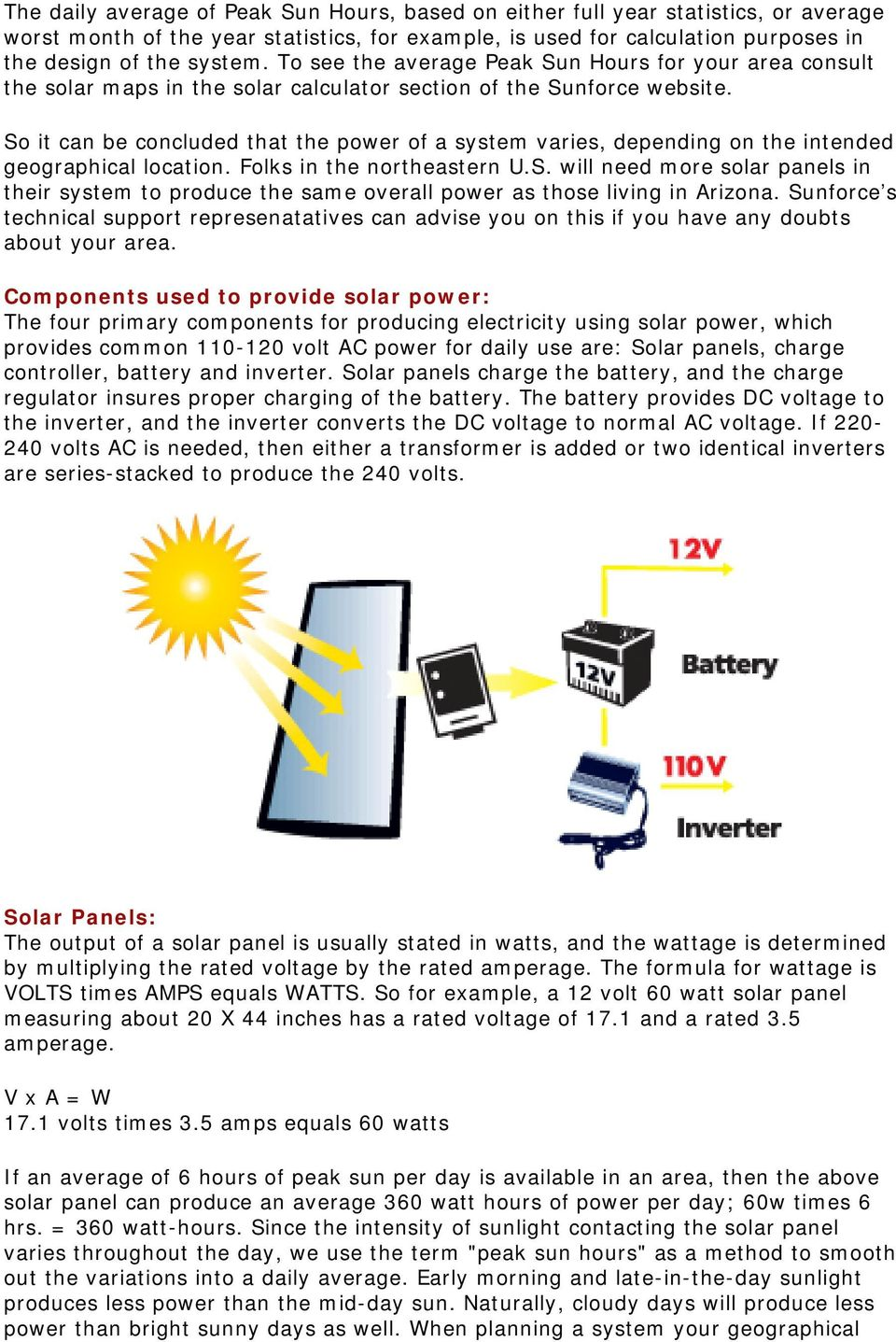 The Basics of Solar Power for Producing Electricity An