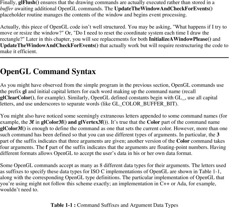 Chapter 1 Introduction to OpenGL - PDF