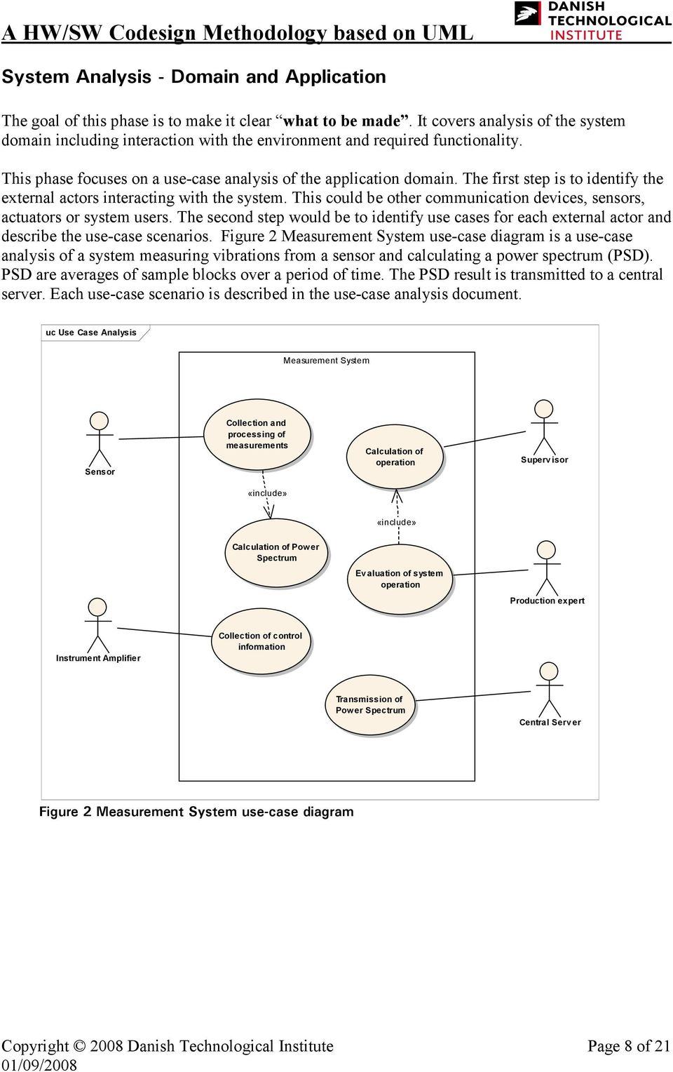 A Hw Sw Codesign Methodology Based On Uml Pdf Application Life Cycle Protocol State Machine Diagram Example The First Step Is To Identify External Actors Interacting With System This Could