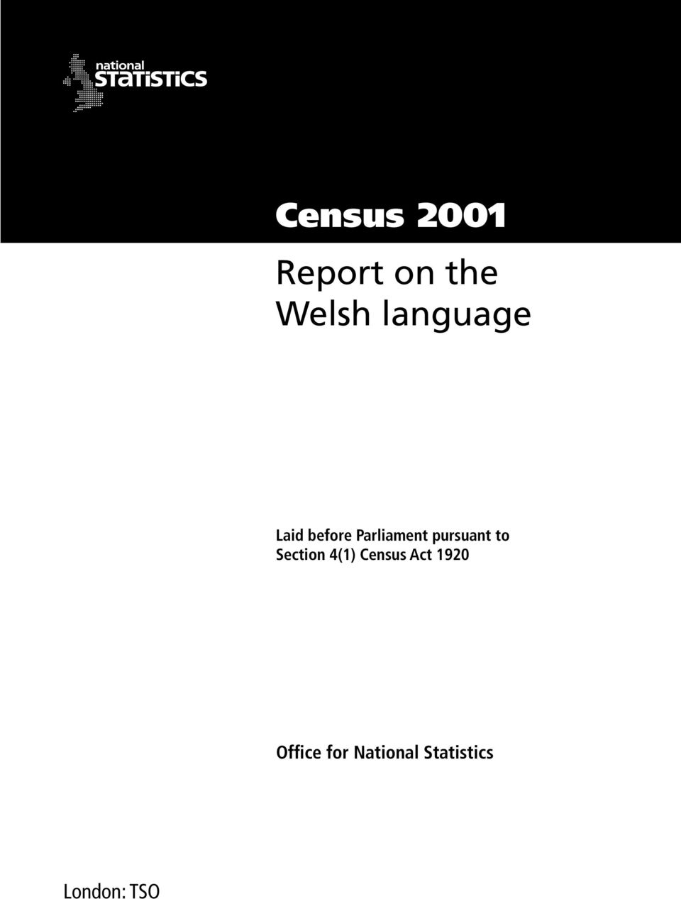 Census 2001 Report on the Welsh language - PDF