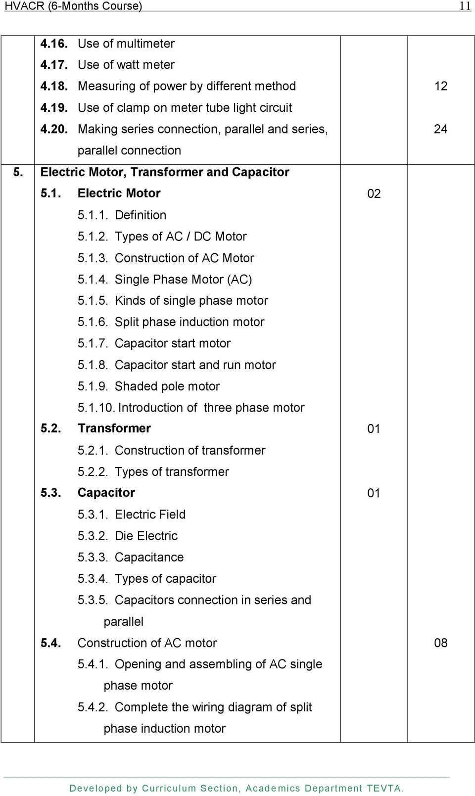 Technical Education Vocational Training Authority Pdf Shaded Pole Ac Induction Motor Circuit Schematic Diagram Wiring Of Split Phase Construction 54 Single 5