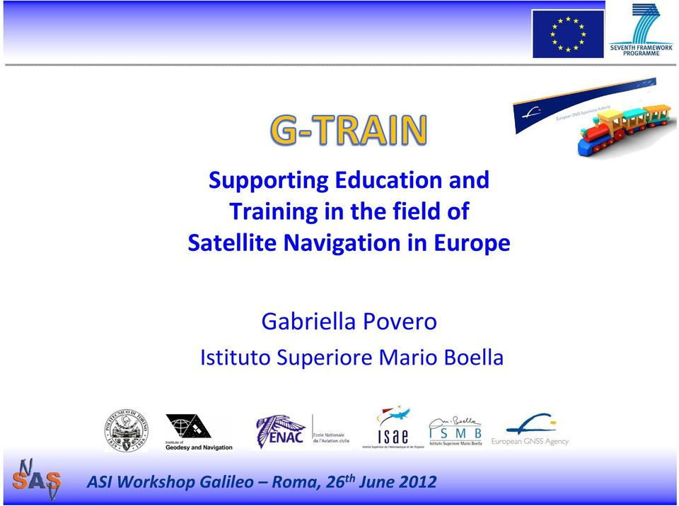 Satellite Navigation in Europe