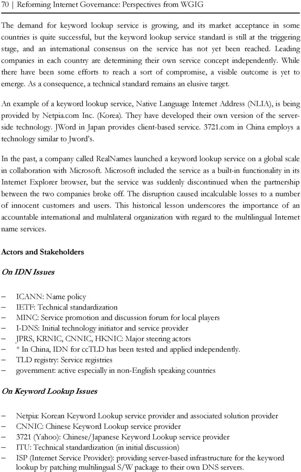 MULTILINGUALISM AND THE DOMAIN NAME SYSTEM 1 - PDF