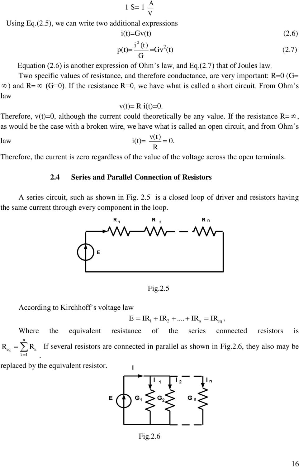 Simon Nemsadze Basic Electrical Engineering Theory And Practice Pdf Resistors How To Measure Current Practically In A Circuit Therefore Vt0 Although The Could Theoretically Be Any