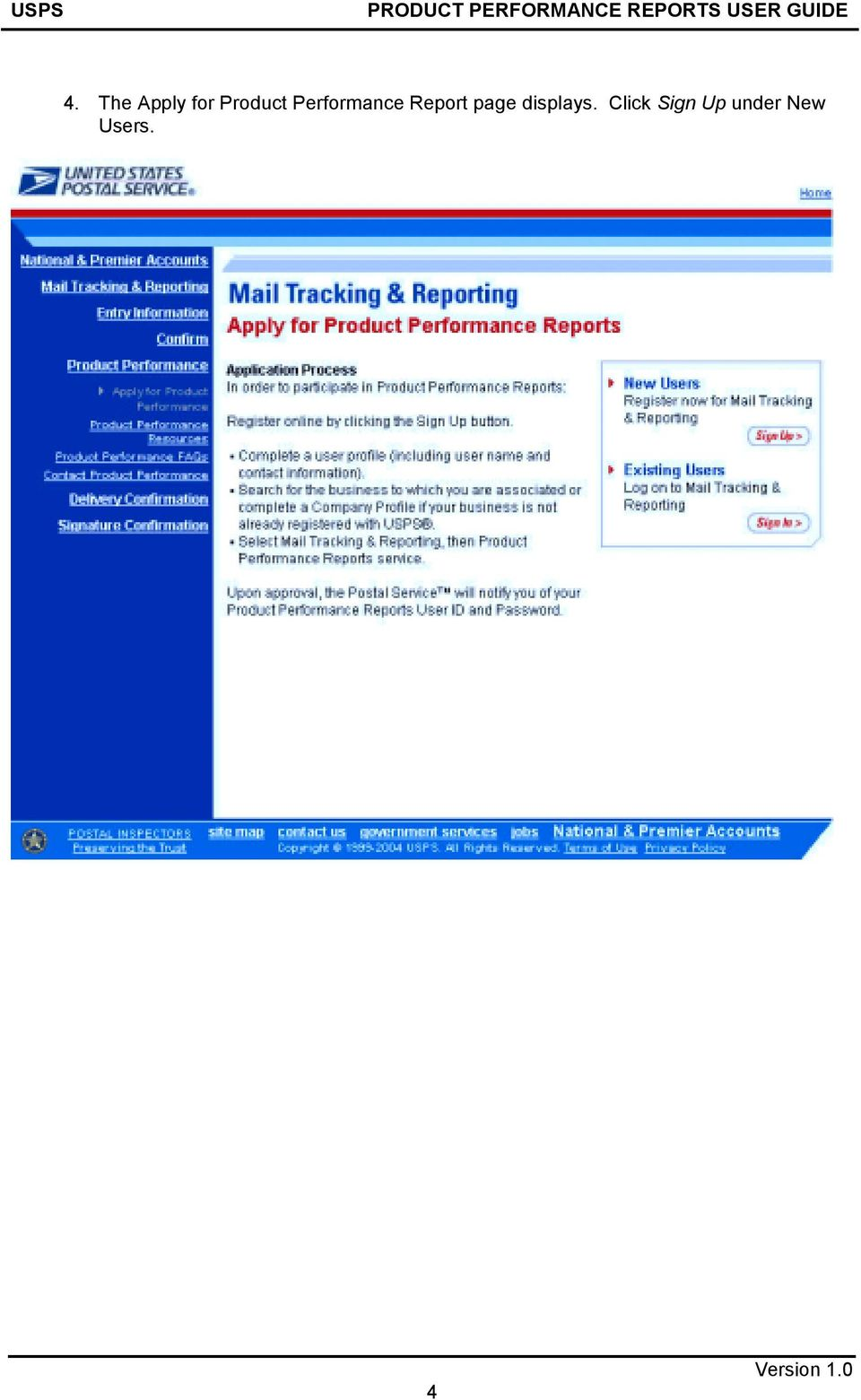 Report page displays.