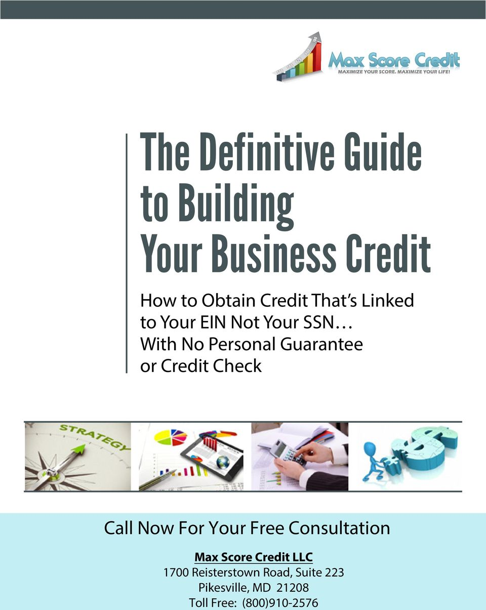 or Credit Check Call Now For Your Free Consultation Max Score Credit LLC