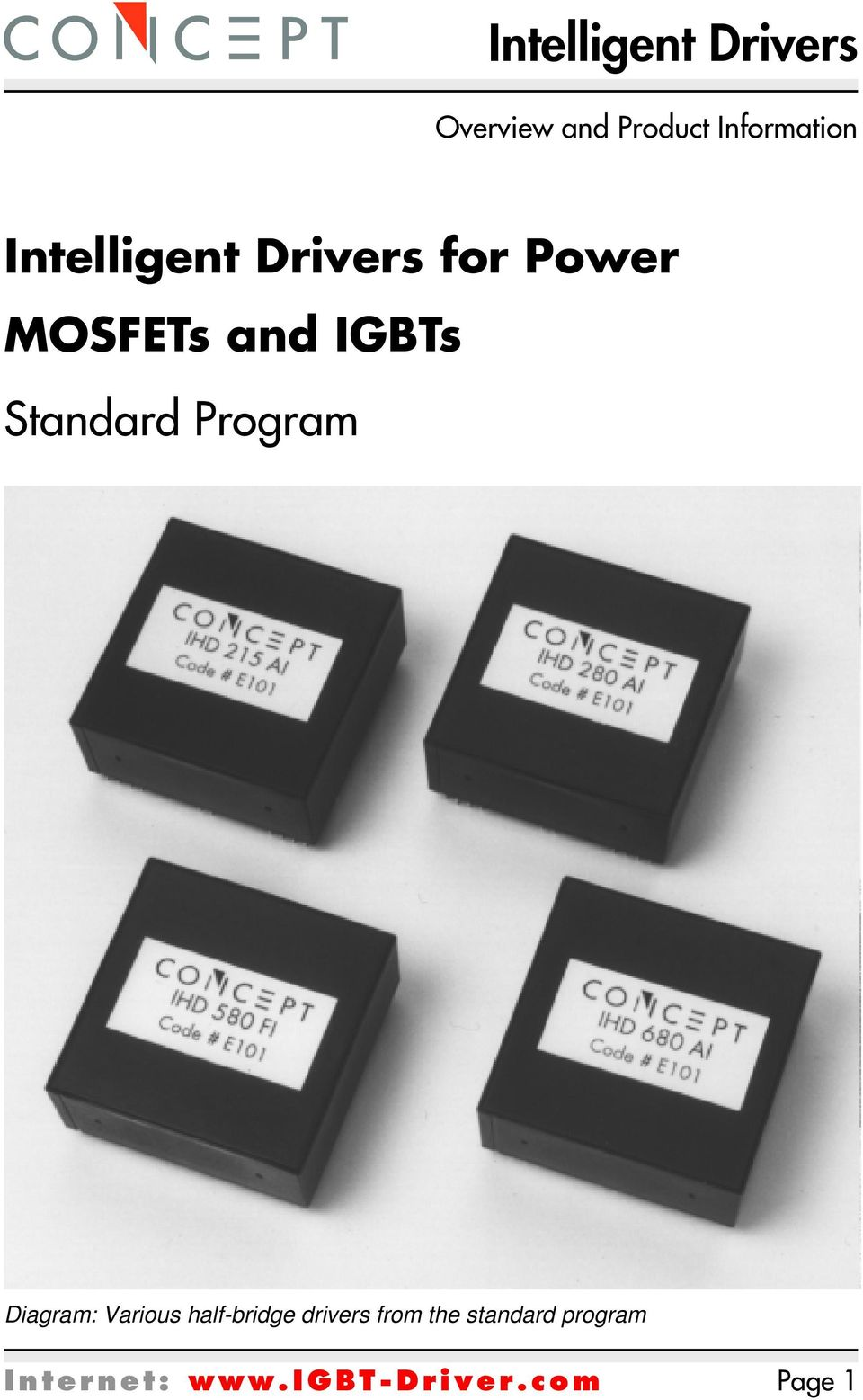 Intelligent Drivers For Power Mosfets And Igbts Igbt Mosfet Tester As Well Inverter Circuit Diagram On Various Half Bridge From The