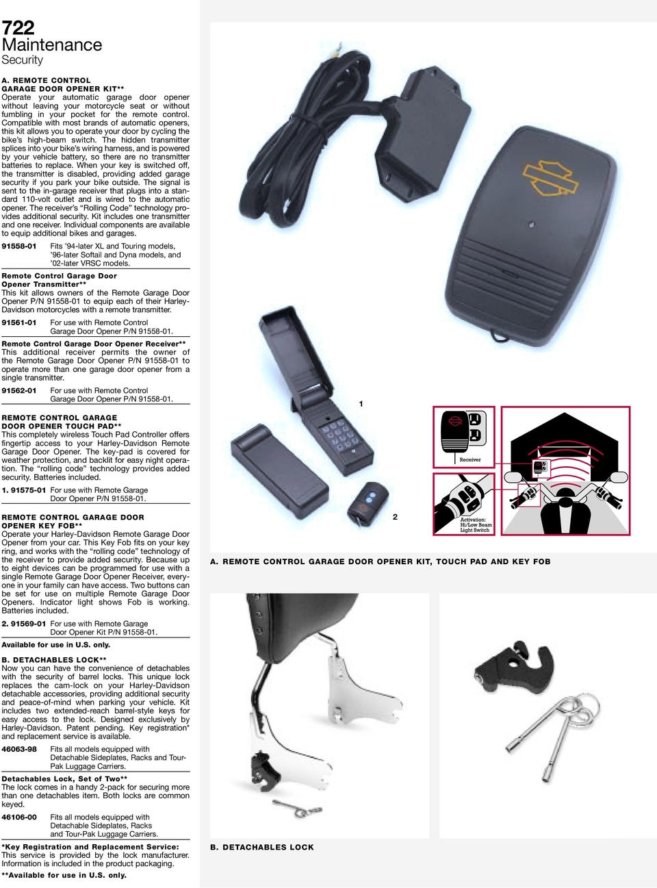 Security Maintenance Pdf Harley Davidson Police Wiring Harness The Hidden Transmitter Splices Into Your Bike S And Is Powered By