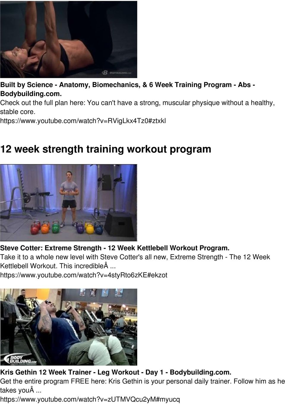 Full Version Is Here Pdf 10 Minute Cardio Workout Strength Circuit With Step Ups Builtlean Vrviglkx4tz0ztxkl 12 Week Training Program Steve Cotter Extreme